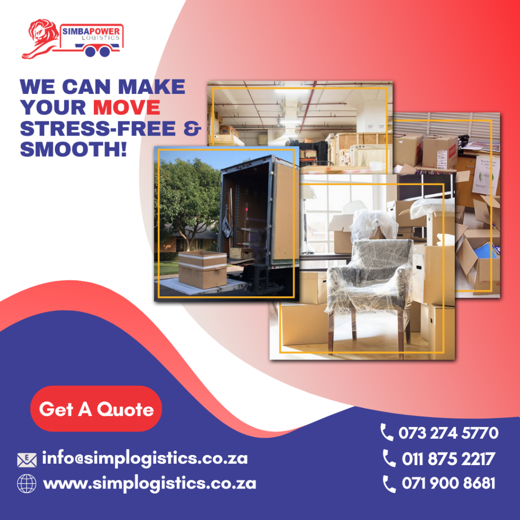 Packing and Moving Services Johannesburg