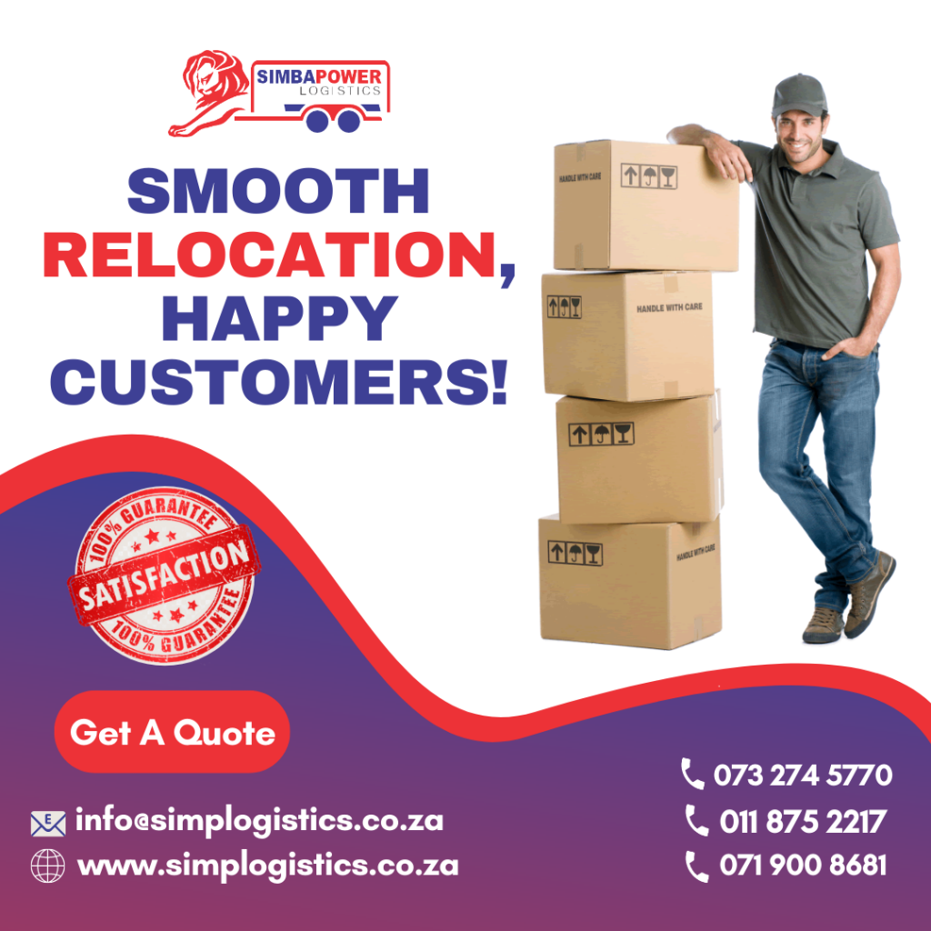 Professional moving company in Johannesburg